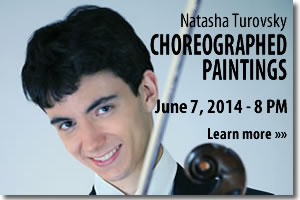 Natasha Turovsky - Choreographed Paintings